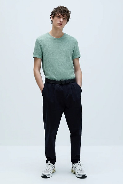 DIY t-shirt trend 2020 textured t-shirt from Zara