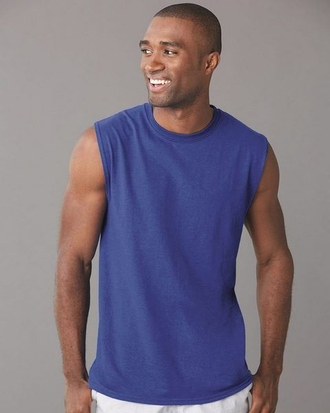 wholesale Jerzees 29SR Dri-Power Sleeveless Unisex 50 50 T-Shirt from BulkApparel