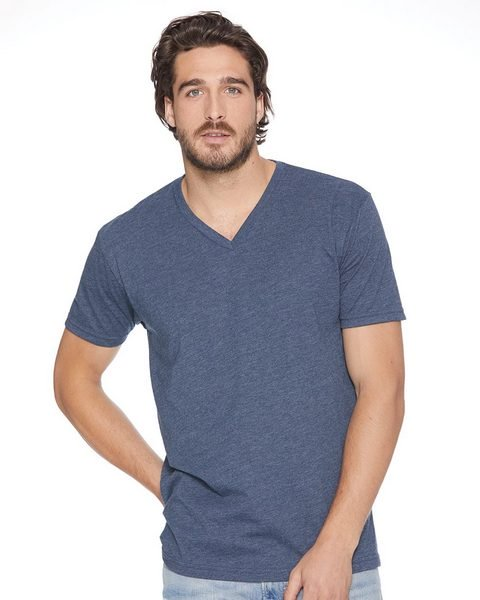 wholesale Next Level 6240 Fitted CVC V-Neck Tee from BulkApparel